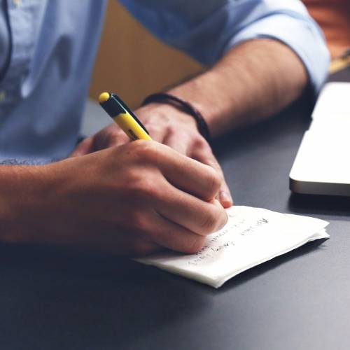 What are the steps involved in writing a conference paper?